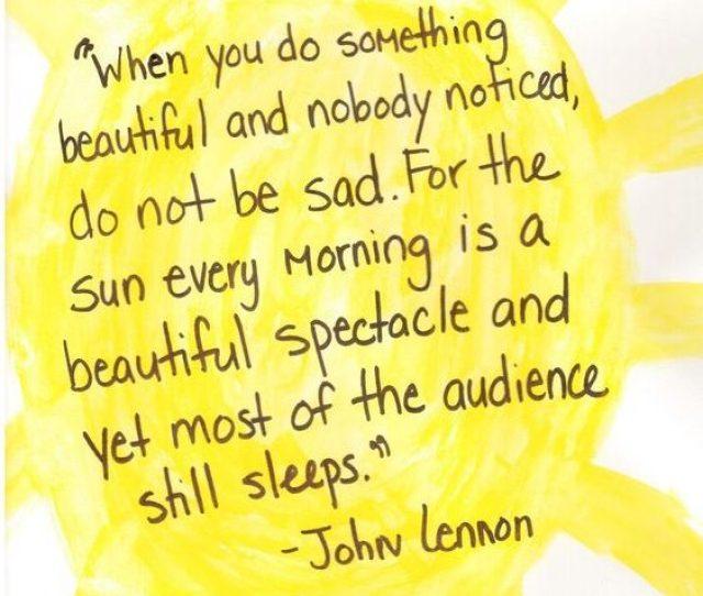 Beautiful Good Morning John Lennon