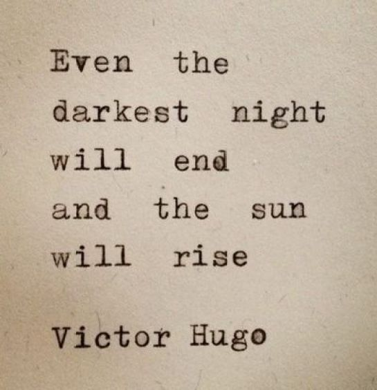 the sun will rise good morning
