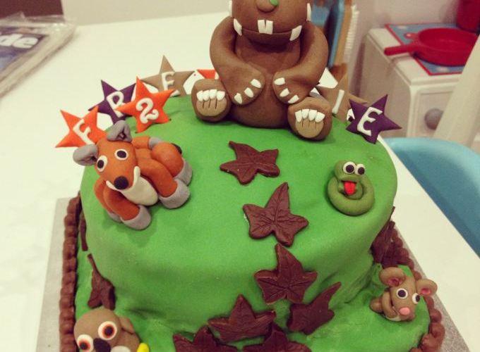 Easy Gruffalo Birthday Cake
