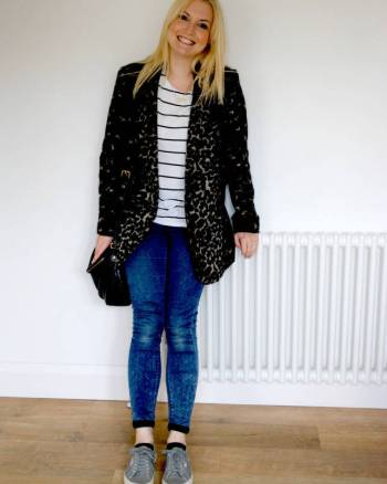 30 Day Autumn Re-use and Recycle Wardrobe Challenge -Day 1