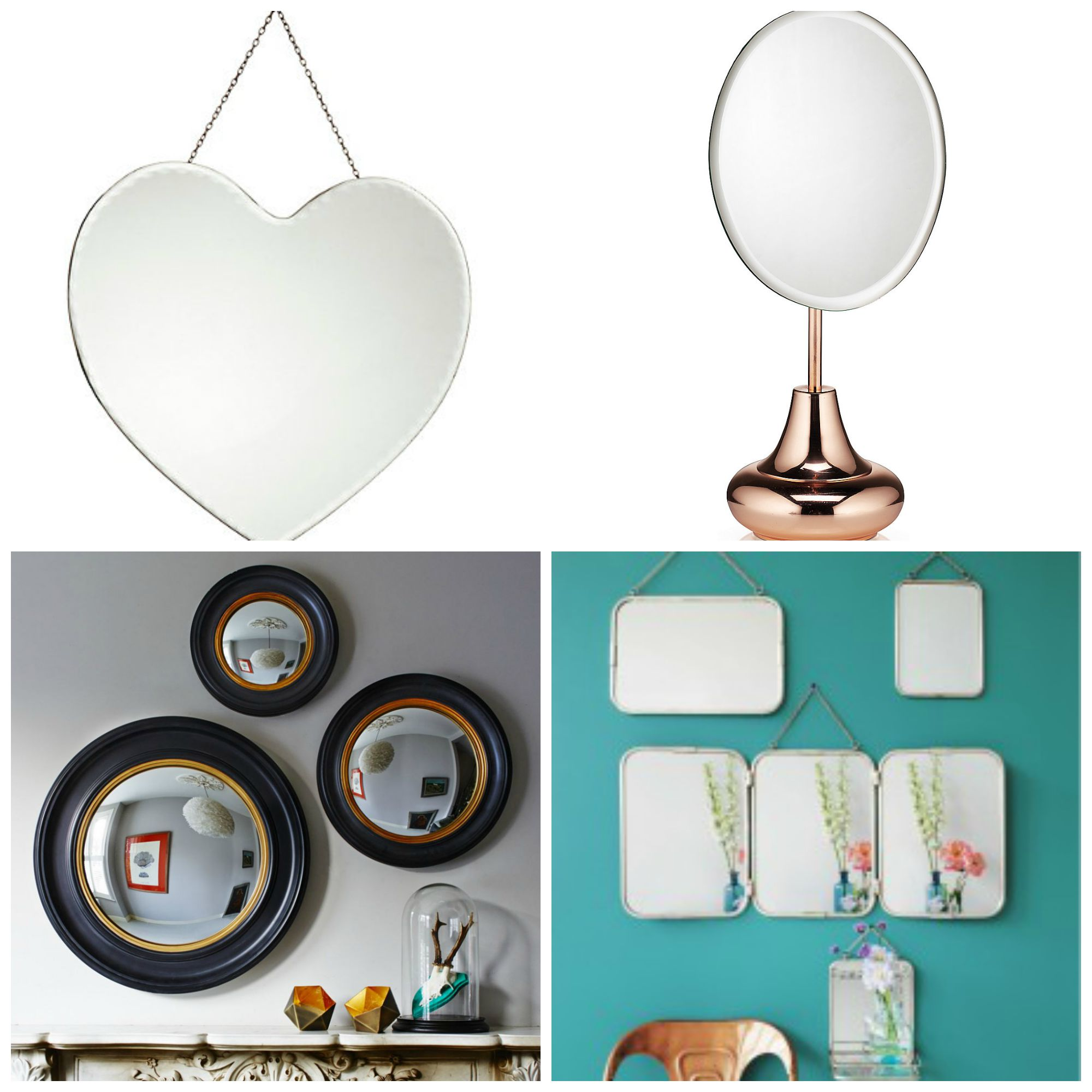 Interiors Inspiration - Bathroom Mirrors - The Spirited Puddle Jumper