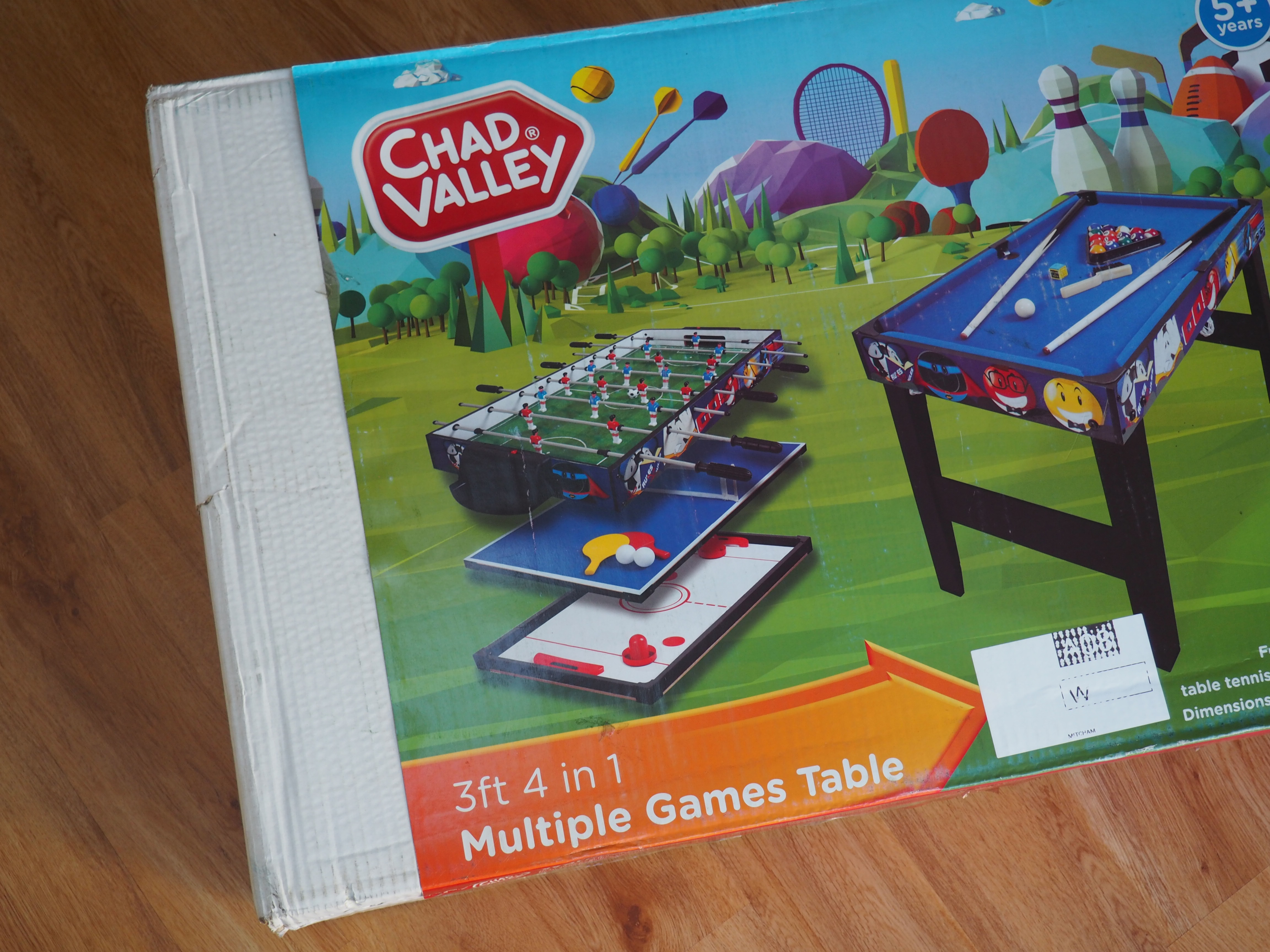 Review: Chad Valley 3ft 4 In 1 Multi Game Table And WIN A £75 Argos Gift  Card