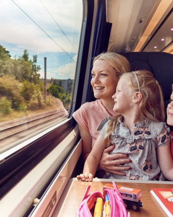 7 Reasons why we love to travel by train as a family