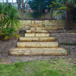 Creating a Child-Friendly Tiered Garden – an Update