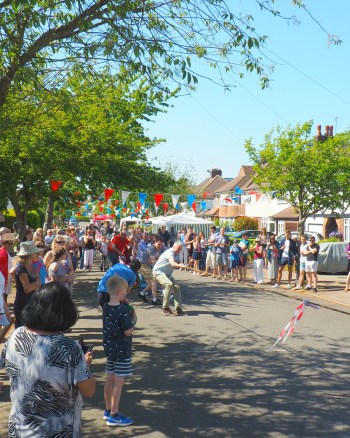 A Right Royal Street Party!