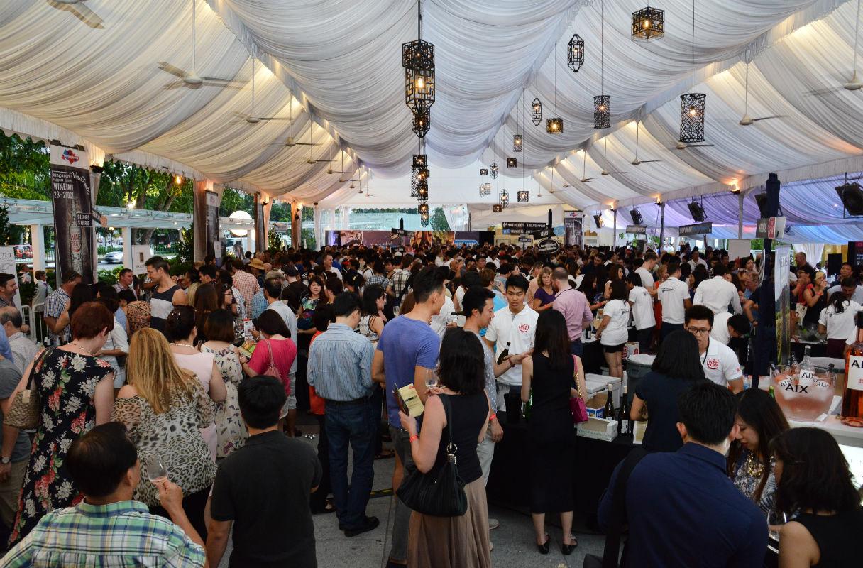 Singapore drinks calendar - Wine Fiesta