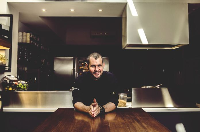 Chef Stephan Zoisl of Chef's Table