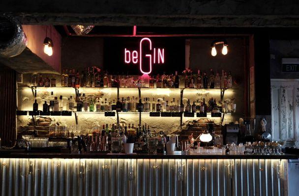 begin bar