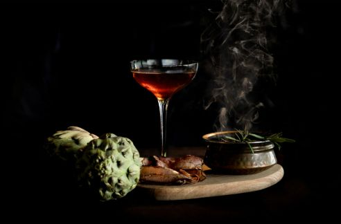 Illusion of Flavours Smoke & MIrrors Dali's Self Portrait