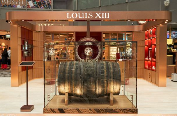 LOUIS XIII pop-up boutique