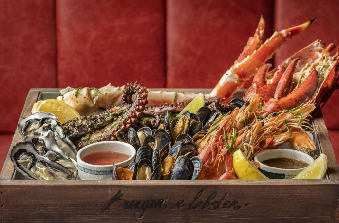 recently opened restaurant Burger & Lobster Raffles