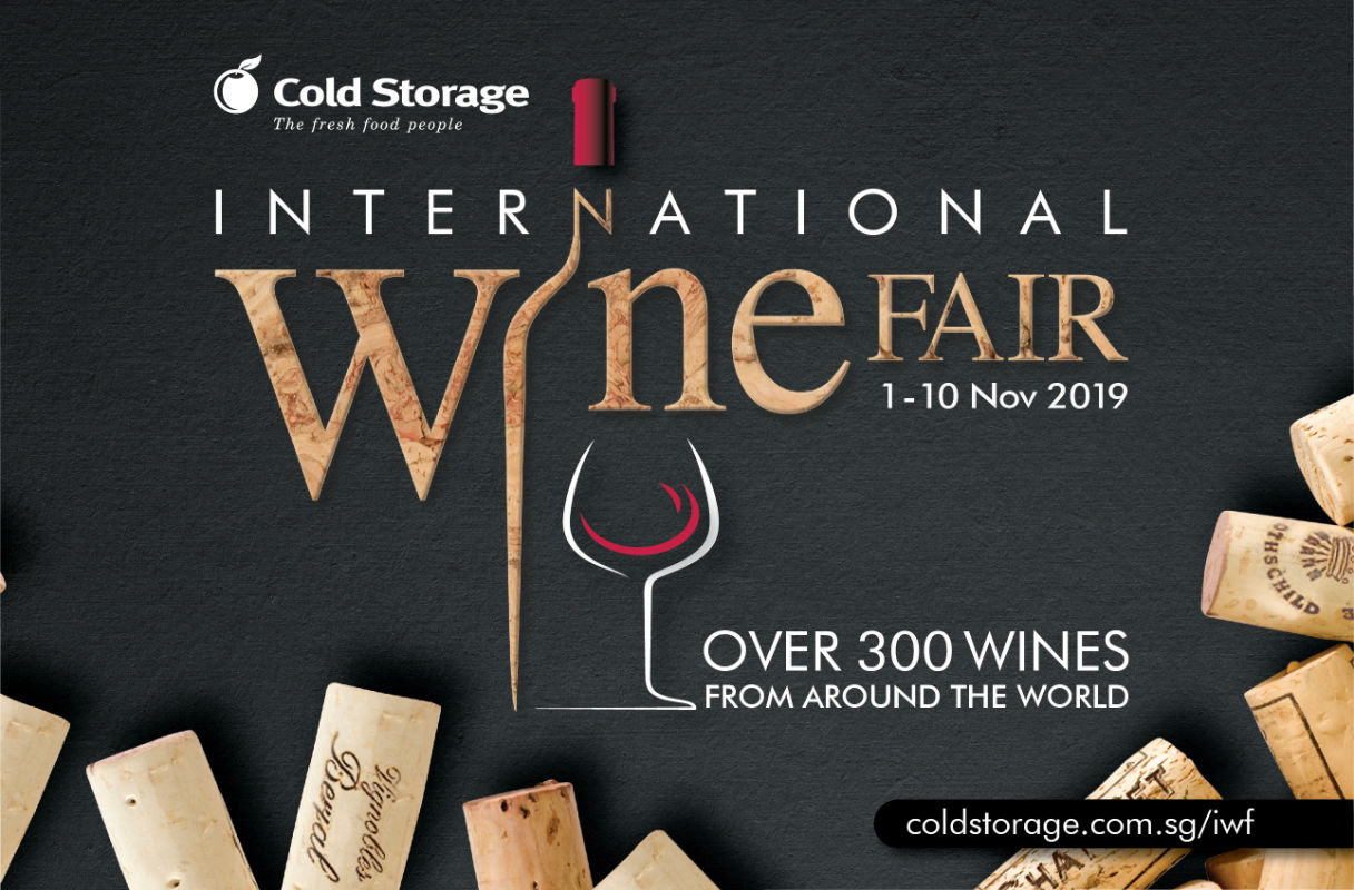 Cold Storage International Wine Fair 2019