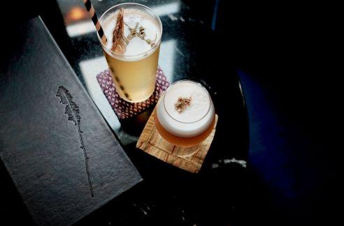 the lounge bar cocktail menu