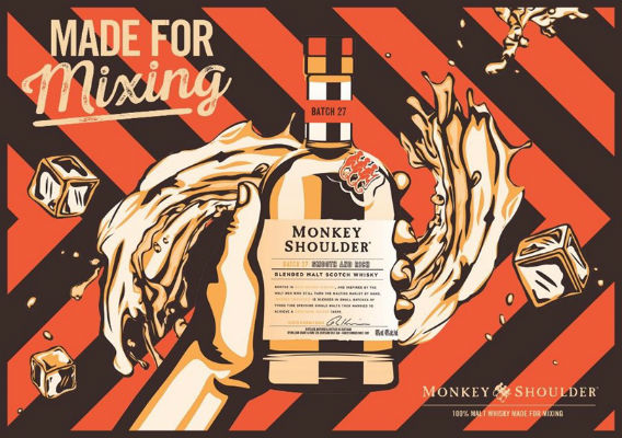 monkey shoulder x tippling club block party
