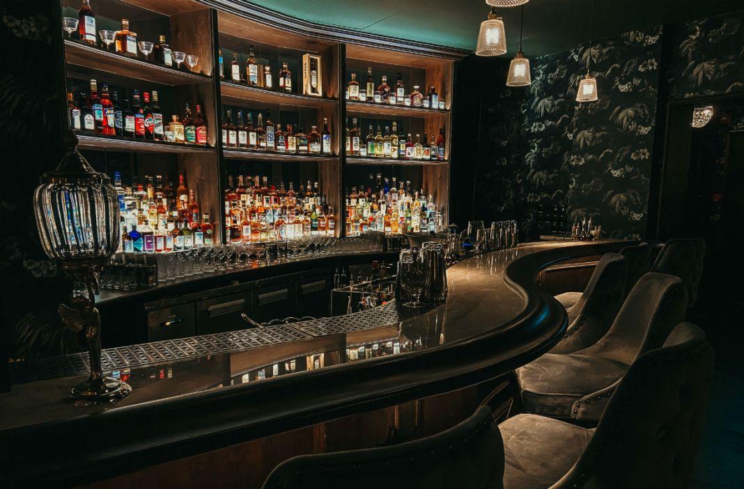 bar at Barbary Coast Ballroom
