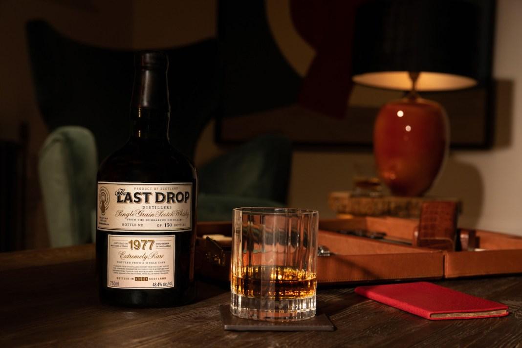 The Last Drop 1977 Dumbarton Single Grain