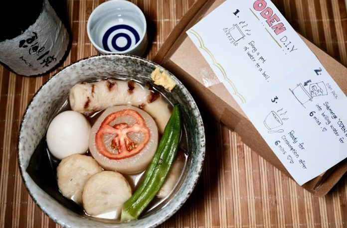 DIY meal kits - NOKA oden