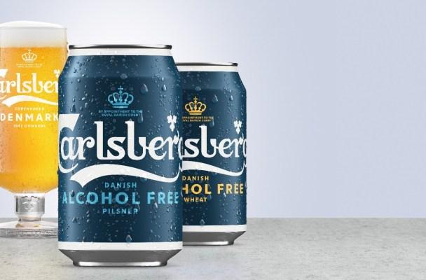 Carlsberg Alcohol Free beer range