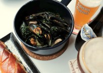 kindgom of belgians moules and beer