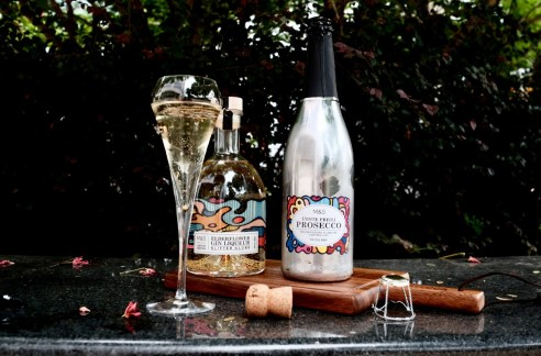 marks & spencer prosecco and gin liqueur
