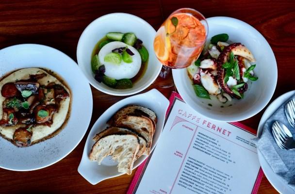 caffe fernet new menu