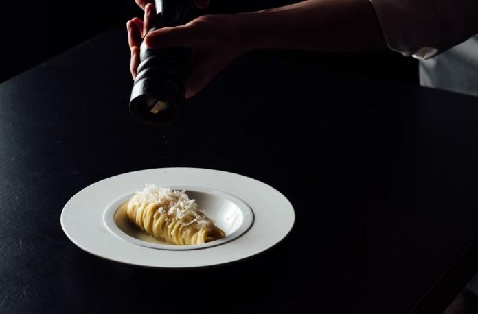 Gemma Steakhouse Spaghetti Monograno Felicetti Cacio e Pepe