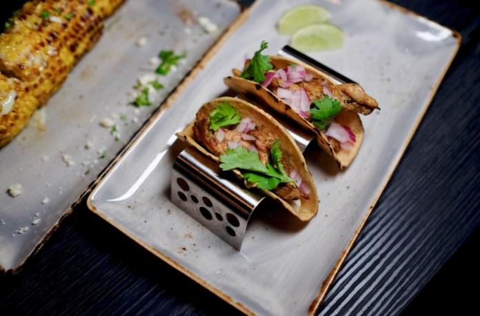 lil' tiger chicken neck tacos