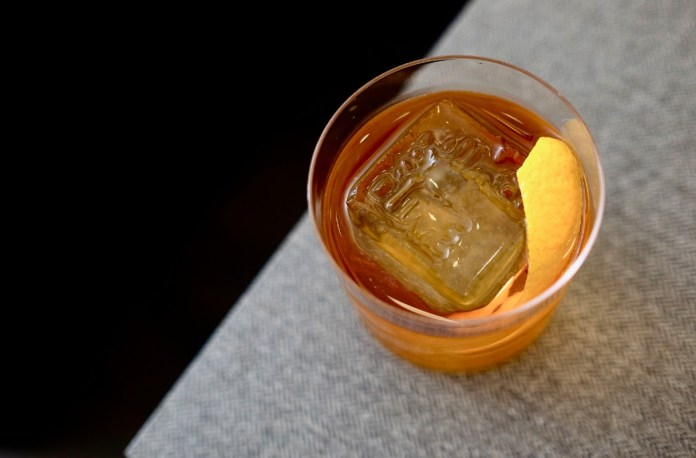 nutmeg & clove smoky old fashioned