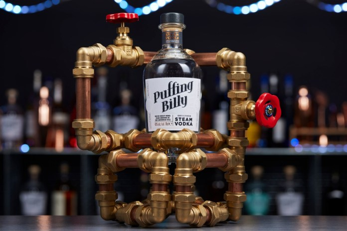Puffing Billy Steam Vodka is literally steam filtered through charcoal.