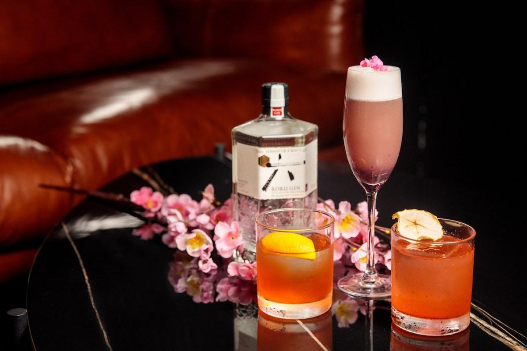 Taki Izakaya Bar Roku Gin spring cocktails