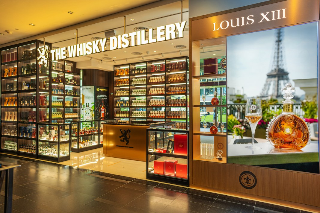 LOUIS XIII shop-in-shop boutique The Whisky Distillery