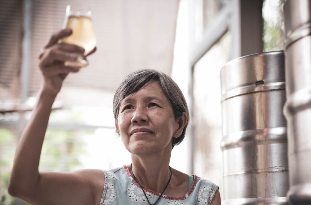 Specific Gravity Brewing Co master brewer Kim Wong