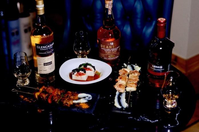 signature reserve whisky omakase
