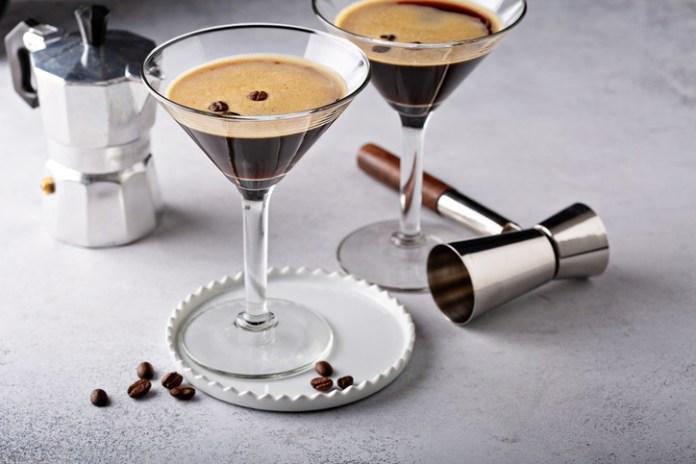 espresso martini - Father's Day cocktails