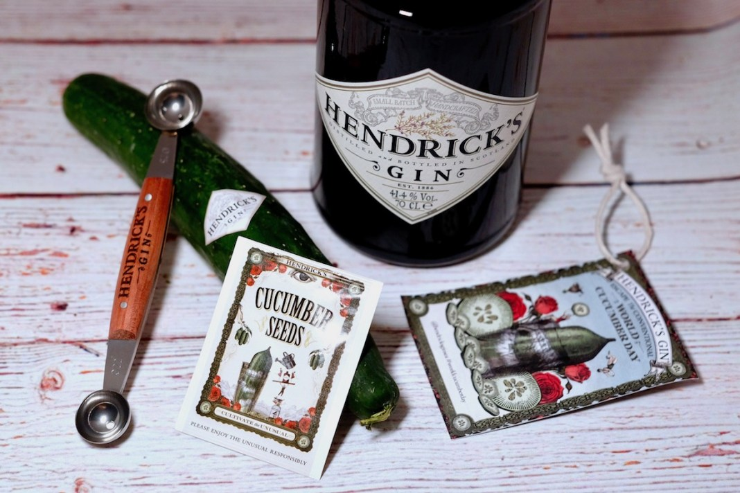 hendrick's gin world cucumber day 2021