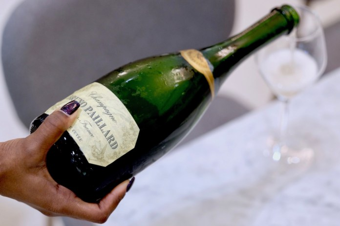 Bruno Paillard champagne at Lady M Champagne Bar