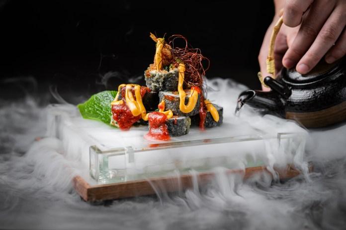 Chura Sushi Bar - Volcano Roll