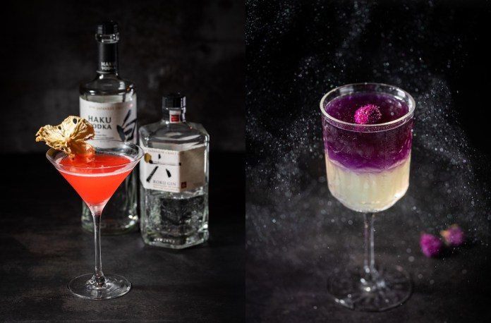 Chura Sushi Bar cocktails