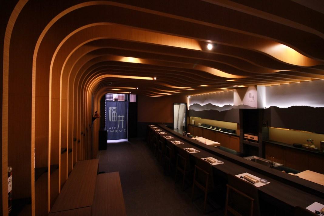 Fukui omakase sushi counter