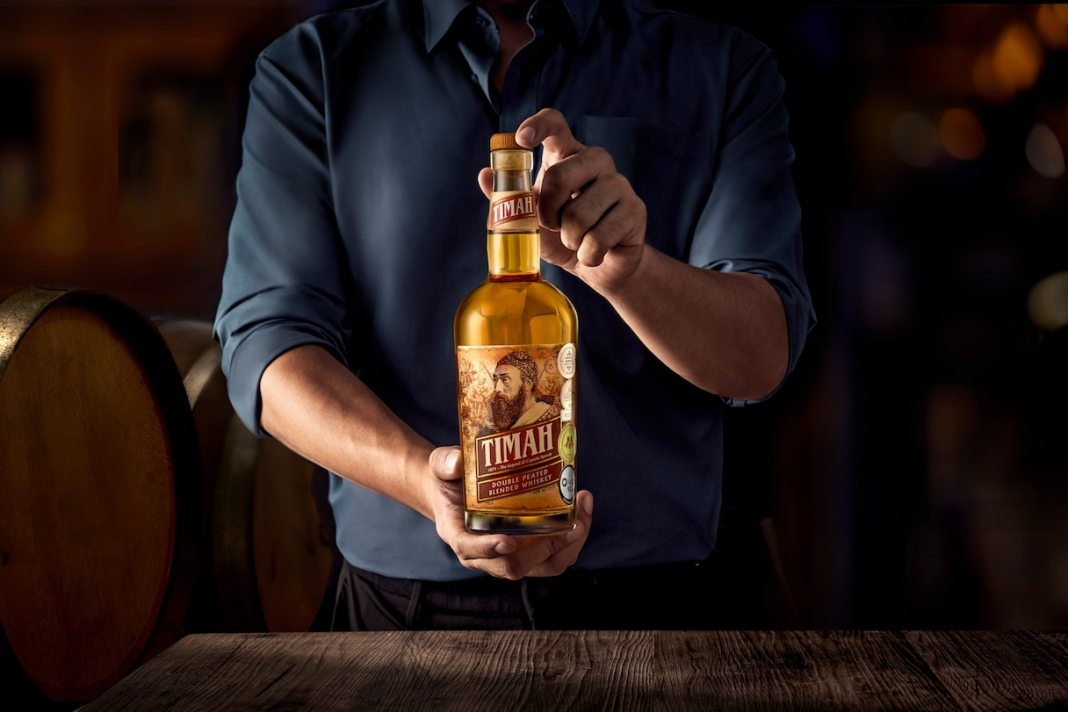 Timah Double Peated Blended Malaysia Whiskey