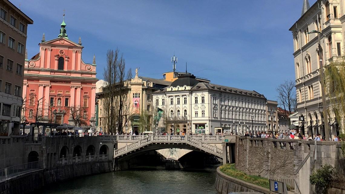 Im Herzen von Ljubljana