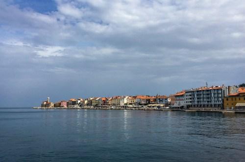 Der kleine Küstenort Piran