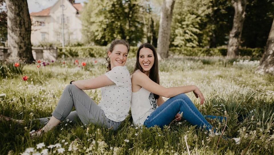 Kristina und Claudia