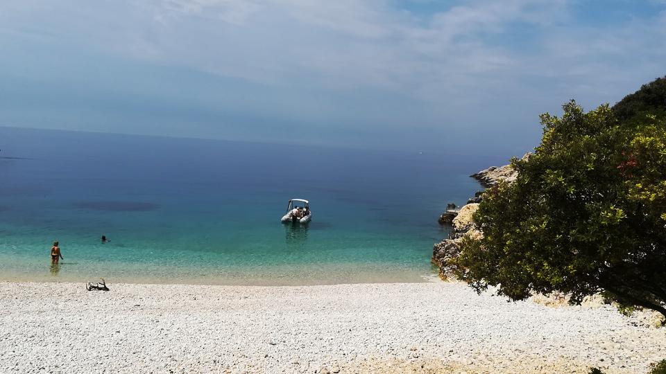 Einfach traumhaft am Strand von Lubenice