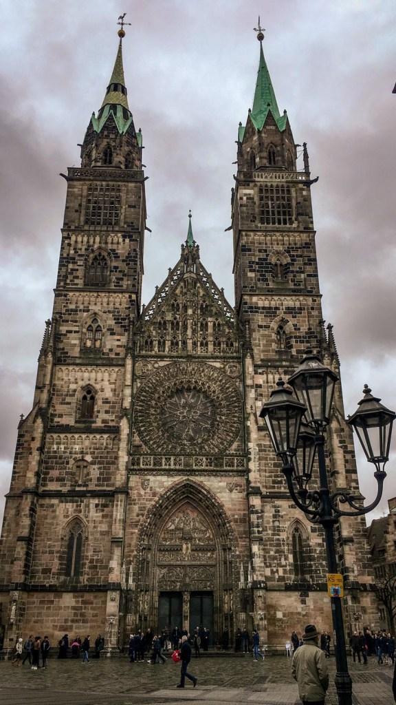 Die Lorenzkirche in Nürnberg