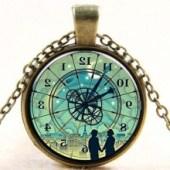 clock in reverse
