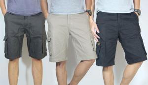 celana cargo pendek konveksi jogja