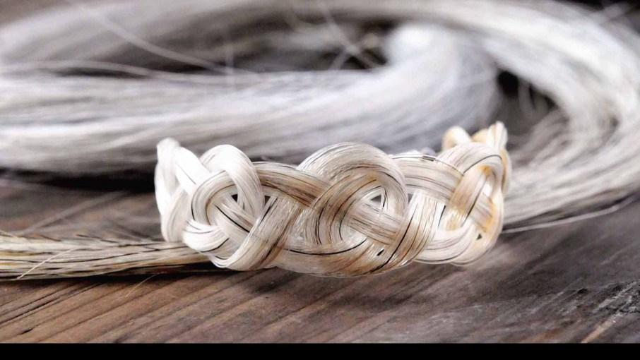 Celtic Horse Hair Bracelet by Spirithorse Designs