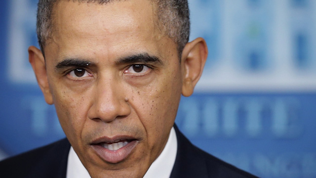 POTUS Obama speaking to press