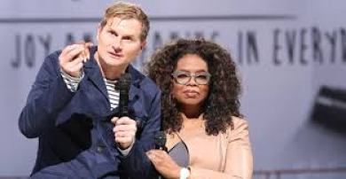 Rob Bell with Oprah Winfrey